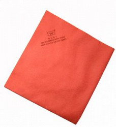 Non Woven Microvezeldoek rood, 40 x 38 cm (5 stuks)