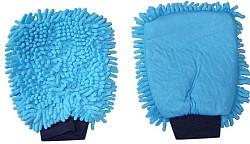Washandschoen Microvezel RASTA blauw