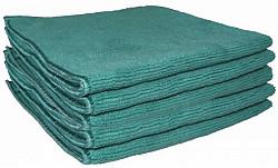 Microvezeldoek Soft groen, 40 x 40 cm