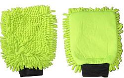 Washandschoen Microvezel RASTA groen