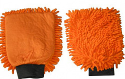 Washandschoen Microvezel RASTA oranje