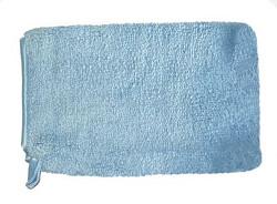 Washandschoen Microvezel ELEGANT blauw