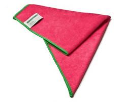 BASIC Microvezeldoek, 40 x 40 cm rood (Greenspeed)