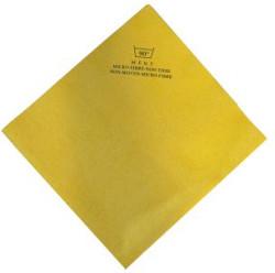 Non Woven Microvezeldoek, geel, 40 x 38 cm (5 stuks)