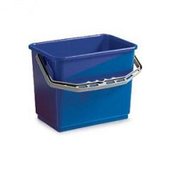 Emmer 7L rechthoekig, blauw (Greenspeed)