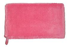 Washandschoen Microvezel ELEGANT roze