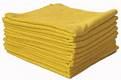 Microvezeldoek Soft geel, 40 x 40 cm
